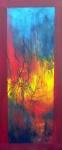 Japanese sunset_acryl linnen-30x70 cm