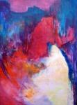 impulsive- acryl linnen - 90 x 120 cm