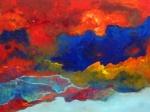 First Light - acryl op linnen - 90x120 cm