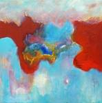 Heaven 1 - acryl linnen - 80 x80 cm - niet beschikbaar