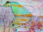 naakt 6 - acryl op papier - 60x50 cm