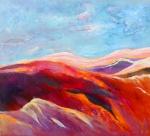 Female Landscape - acryl op linnen - 90 x 100 cm