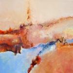 View on the earth_acryl linnen_100 x 100 - niet beschikbaar